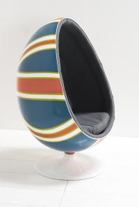 Hand Painted Union Jack Pod Chair