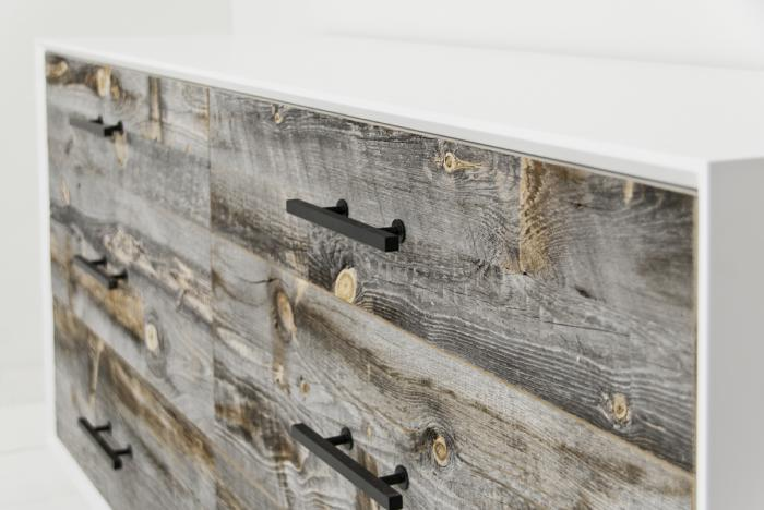 Cody Dresser with Recycled Grey Washed Wood