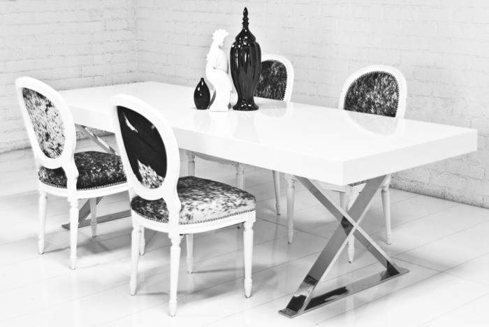 Www Roomservice X Leg Dining Table