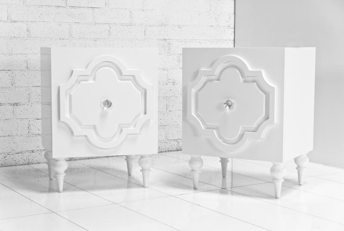 wwwroomservicestorecom Marrakesh Side Table in White Gloss