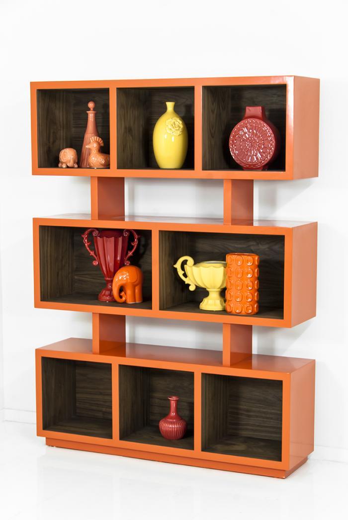 us products orange cabinet bookshelf with compartments en eket catalog ikea