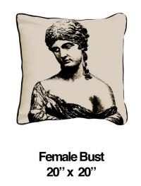 Female Bust Black Oatmeal