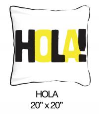 Hola! Yellow/Grey/Black