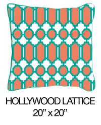 Hollywood Lattice Orange/Green