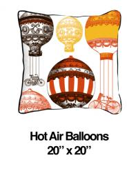 Hot Air Balloon Orange