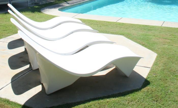 60 39 S Arcitectural Sunlounger In