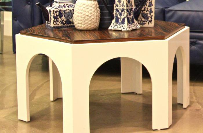 Macassar Moroccan Coffee Table