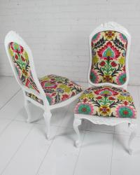 Floral Monte Carlo Chair