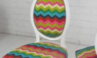 Chevron Victoria Dining Chair