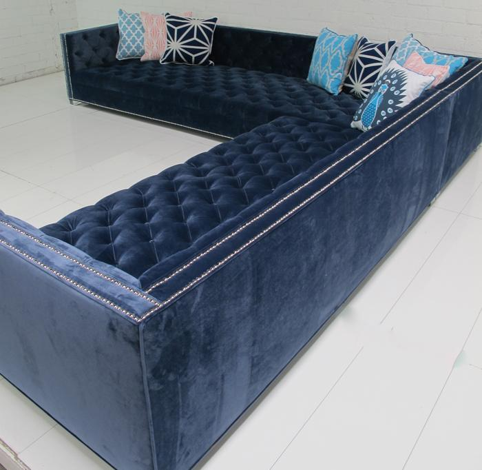 Www Roomservicestore Com Navy Tufted New Deep Sectional