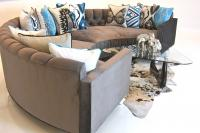 Tufted Circle Sectional