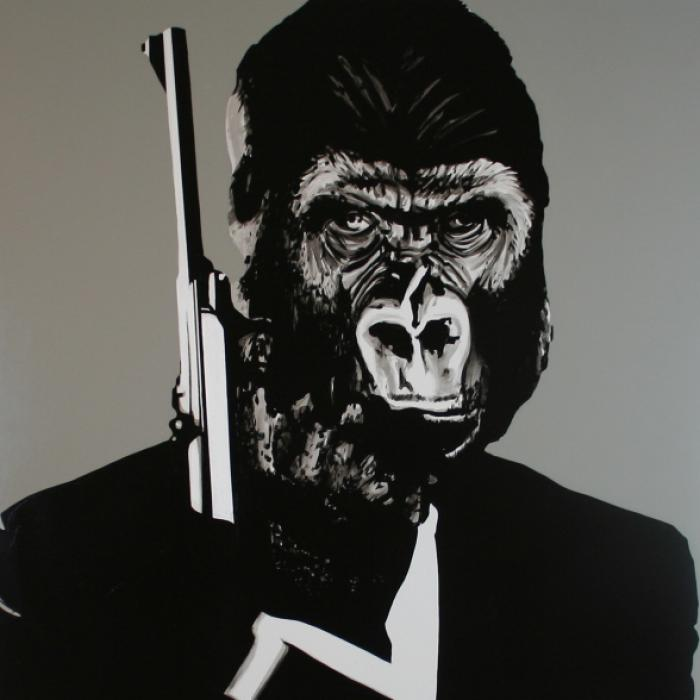 007 Ape Original Artwork
