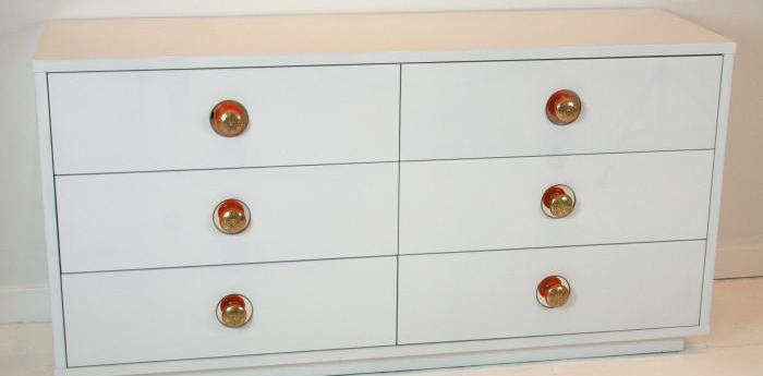 Boca Dresser with Moroccan Pulls