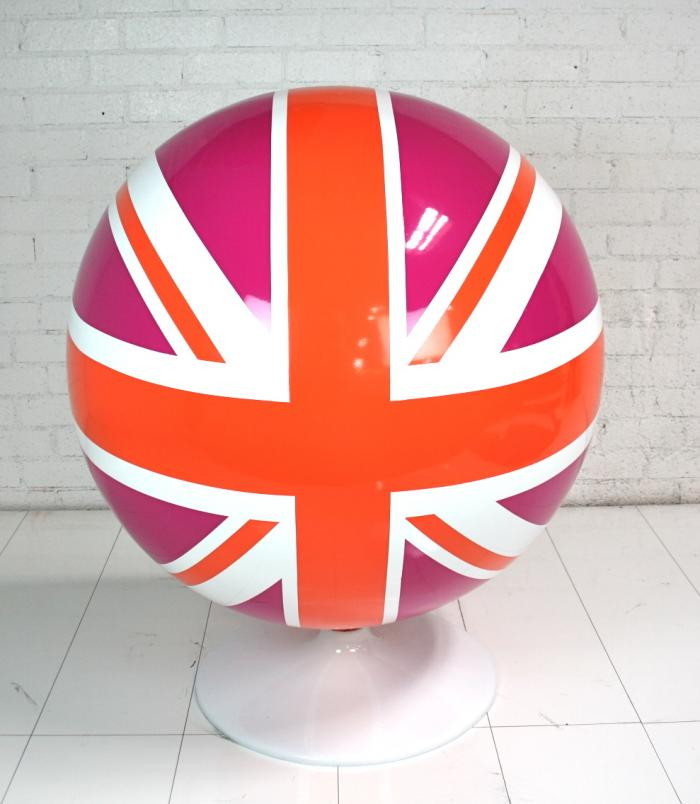Custom Painted Ball Chair