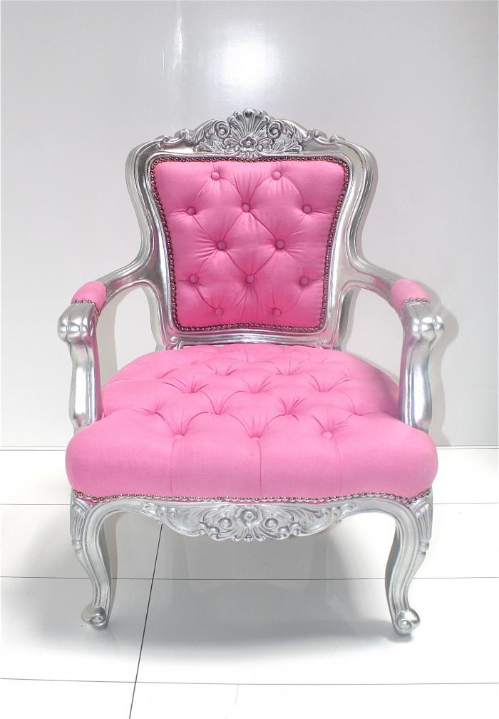 Exceptional Custom Tufted Philippe Chair