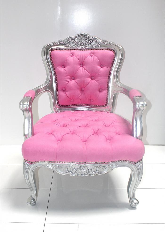 Custom Tufted Philippe Chair