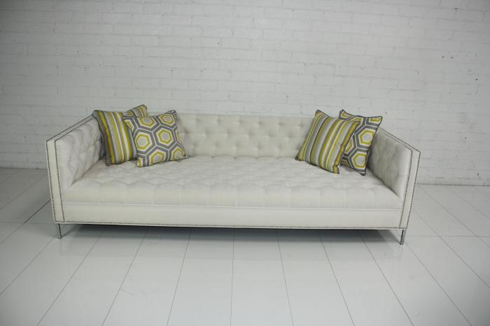 Www Roomservicestore Com New Deep Tufted Sofa In Ivory