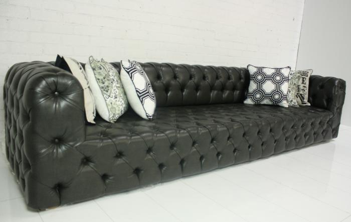 Www Roomservicestore Com Palm Beach Sofa Faux Charcoal