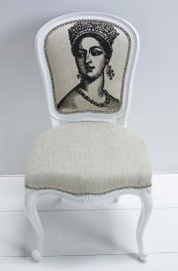 Philippe Dining Chair with British Queen