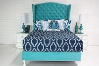 Casablanca Bedding in Navy