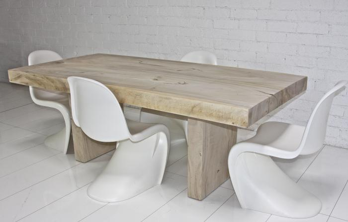 Wwwroomservicestorecom Small Bleached Acacia Dining Table - Bleached wood dining table