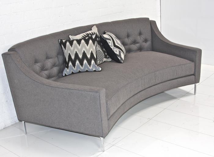 Lautner Curved Sofa