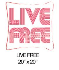 Live Free Pink