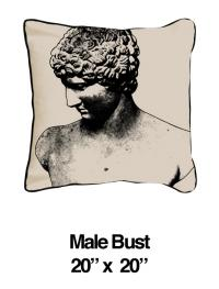 Male Bust Black Oatmeal (Temporarily Out of Stock)