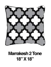 Marrakesh Two Tone Black