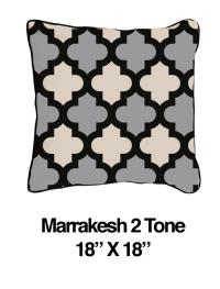 Marrakesh Two Tone Black Oatmeal