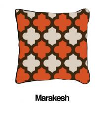 Marrakesh Two Tone Orange Oatmeal