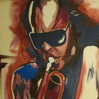 Miles Abstract Original Artwork # 1