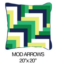 Mod Arrows Green