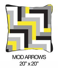 Mod Arrows Yellow/Black