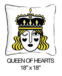 Queen of Hearts Yellow