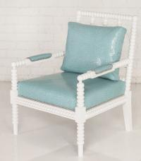 Acapulco Chair with Turquoise Corc