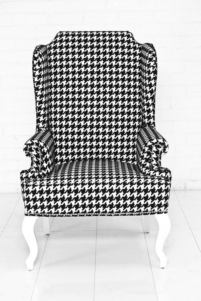 Www Roomservicestore Com Brixton Wingchair Black Amp White