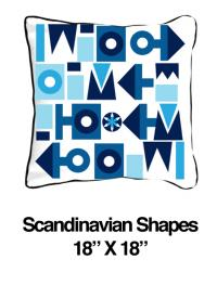 Scandinavian Shapes Blue (Temporarily Out of Stock)