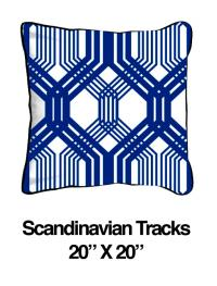 Scandinavian Tracks Blue