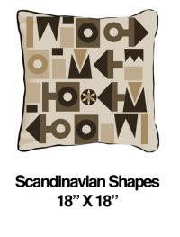 Scandinavian Shapes Black (Temporarily Out of Stock)