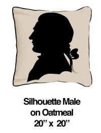 Silhouette Male Black Oatmeal