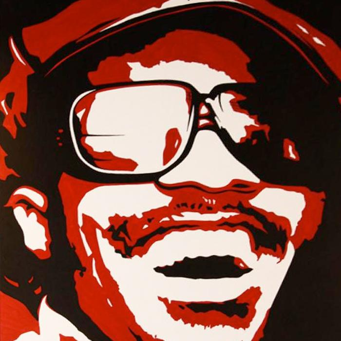 Stevie Wonder Original Artwork # 3