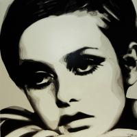 Twiggy Original Artwork #4