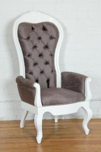 Riviera Tall Wing Chair with arms