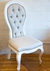 Riviera Dining Chair in Linen