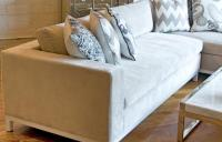 Monte Carlo Sectional - Cream Velvet