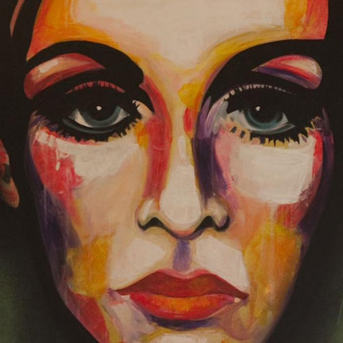 Abstract Twiggy Artwork