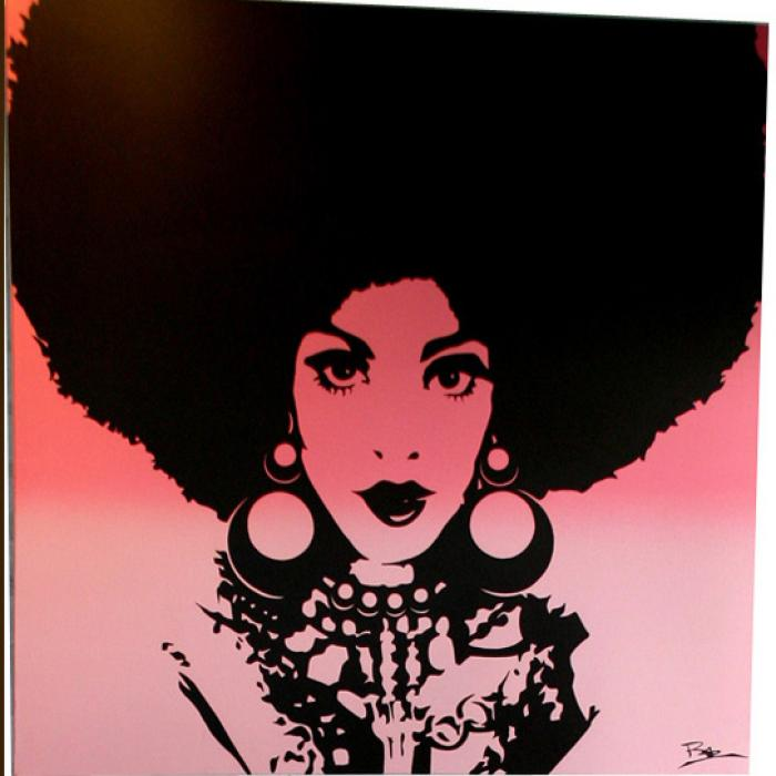 Afro Chick Artwork