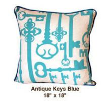 Antique Keys Blue