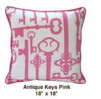 Antique Keys Pink